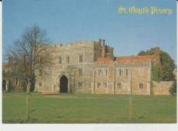 Postcard - Churches - St. Osyth Priory Nr. Clacton - On - Sea, Essex  Very Good - Cartes Postales