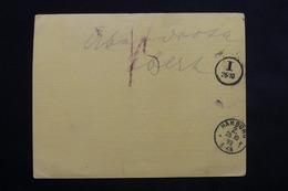 ITALIE - Colis Postal De Genova Pour L 'Allemagne En 1893 - L 22367 - 1878-00 Humbert I.