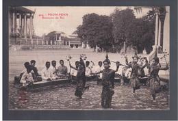 CAMBODGE Pnom- Penh Danseuses Du Roi Ca 1910 OLD POSTCARD - Cambodia