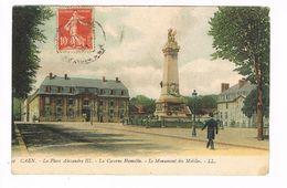 CPA (14)   CAEN.  La Caserne Hamelin .Monument Des Mobiles.(C.152) - Caen