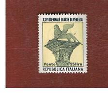 ITALIA REPUBBLICA - UN. 692    -   1952  BIENNALE D' ARTE DI VENEZIA     - NUOVI LINGUELLATI (UNUSED) * - 6. 1946-.. Repubblica