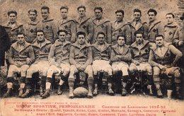 CPA De L'équipe 1ère De Rugby De PERPIGNAN 1924-25. - Perpignan
