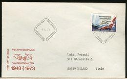 FINLANDIA - SUOMI FINLAND - FDC 1973 - VANSKAPSPAKTEN - Finlandia