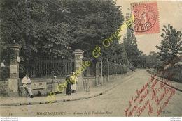 95.  MONTMORENCY .  Avenue De La Fontaine René .  CPA Animée . - Montmorency