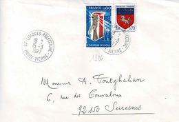 TP N° 1926 Et 1510 Sur Enveloppe De Limoges Préfecture - 1961-....