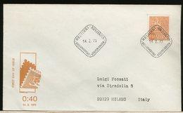 FINLANDIA - SUOMI FINLAND - FDC 1973 -  0,40 - Finlandia