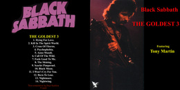Superlimited Edition CD Black Sabbath. THE GOLDEST 3 - Limited Editions