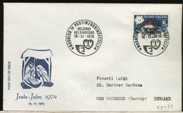 FINLANDIA - SUOMI FINLAND - FDC 1974 -  CHRISTMAS - Finlandia