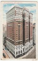 Cartolina - Postcard -  Viaggiata -  Sent -    U.S.A.   Mc Alpin Hotel, New York - Alberghi & Ristoranti
