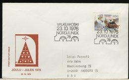 FINLANDIA - SUOMI FINLAND - FDC 1976 -  CHRISTMAS - Finlandia