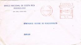 31490. Carta Aerea SAN JOSE (Costa Rica) 1947. Franqueo Mecanico - Costa Rica