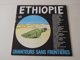 Éthiopie, Chanteurs Sans Frontières -(Titres Sur Photos)- Vinyle 45 T Maxi Single - 45 T - Maxi-Single