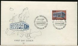 FINLANDIA - SUOMI FINLAND - FDC 1969 -  EUROPA - Finlandia