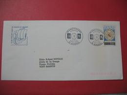 Lettre  1988 - 30 ème Anniversaire Normandie -   Basse-Saxe   - Club Philatélique De Rouen Et Région - Commemorative Postmarks
