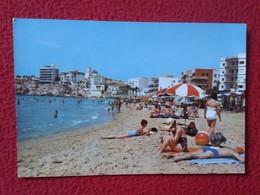 SPAIN POSTAL POST CARD CARTE POSTALE POSTCARD PUBLICIDAD ADVERTISING MEDICAMENTO MEDICINE EDUSAN, IMAGEN DE PLAYA PLAGE - Publicidad