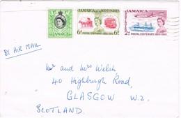 31494. Carta Aerea MANDEVILLE (Jamaica) 1966 To Scotland - Jamaica (1962-...)