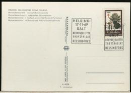 FINLANDIA - SUOMI FINLAND - FDC 1969 -  TRATTATO SALT Strategic Arms Limitation Talks (Trattato Per La Limitazione Degli - Storia Postale