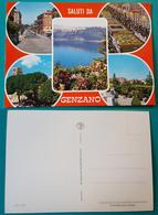 Cartolina Saluti Da Genzano (Vedutine). Non Viaggiata - Italie