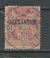 ALEXANDRIE Scott 12a ? Yvert 14 (11) O Type I: N Sous B 35,00 $ 1899 - Alexandrie (1899-1931)