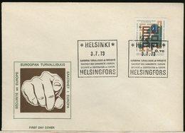 FINLANDIA - SUOMI FINLAND - FDC 1973 -  SICUREZZA E COOPERAZIONE IN EUROPA - Finlandia