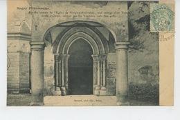 VIEU EN VALROMAY - Porche Romain De L'Eglise - France