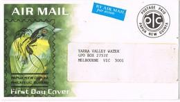 31495. Carta Aerea PAPUA And NEW GUINEA. Postage PAID. Bird - Papua New Guinea