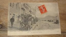 CALVI : Les Quais Et Les Palmiers  ................JK-2198 - Calvi