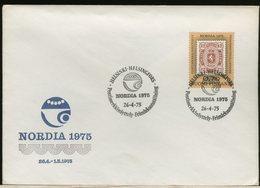 FINLANDIA - SUOMI FINLAND - FDC 1975 -  NORDIA 75 - Finlandia
