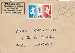 TP N° 1940 Seul Sur  Enveloppe De Ste Geneviève Des Bois - 1961-....