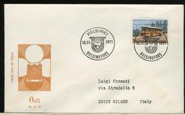 FINLANDIA - SUOMI FINLAND - FDC 1971 -  BUS  POST - Finlandia