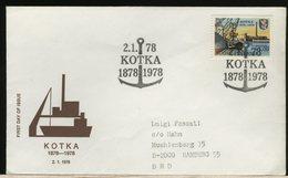 FINLANDIA - SUOMI FINLAND - FDC 1978 -  KOTKA 78 - Finlandia