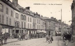 AMIENS LA RUE DE BEAUVAIS AUTOMOBILE  COMMERCES - Amiens
