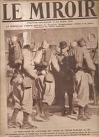 Le Miroir N°69 Du 21 Mars 1915 Le Témoignage De Loyalisme Des Turcos De Tunisie Partant Au Feu - Revues & Journaux