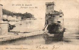 ITALIE  UN SALUTO DA RAPALLO  Fortezza Secolo XX - Genova (Genoa)