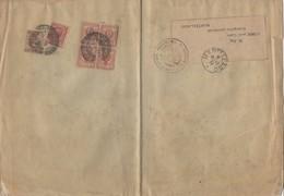 """BandeJournal """"PROVINCIALE DI VENEZIA"""" Avec 2Cmi X4 Bloc +10Cmi +40Cmi De Oblt - 1900-44 Victor Emmanuel III"""
