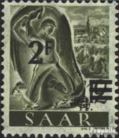 Saarland 229Y I, Steigendes Wasserzeichen, Urdruckmarke Gestempelt 1947 Berufe Und Ansichten - 1947-56 Occupation Alliée