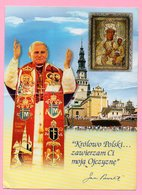 Postcard - Jasna Gora (Pope John Paul II),  2008., Poland (Poland To Croatia) - Polonia