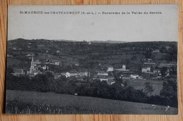 71 : St-Maurice-les-Châteauneuf - Panorama De La Vallée Du Sornin - (n°14229) - France