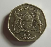 Botswana 1 Pula 1991 Varnished - Botswana