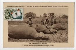 Expédition CITROEN - Centre Afrique - La Croisière Noire - La Chasse Aux Hippopotames - Comte De Tréogat - Centrafricaine (République)
