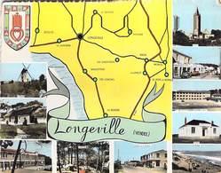 85 - Longeville Sur Mer - Multi-vues. 1963 - France