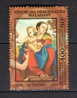 MADAGASCAR TIMBRE DU BLOC N° 25  NEUF SANS CHARNIERE  COTE  6.50€  TABLEAUX PEINTRE - Madagascar (1960-...)