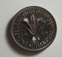 Nigeria 1 Shilling 1959 Varnished - Nigeria
