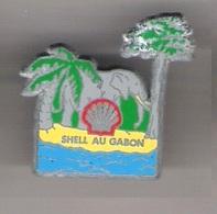 Pin's COQUILLAGE - SHELL AU GABON - VERSION BRUT - Animaux