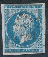 N°14 NUANCE ET OBLITERATION. - 1853-1860 Napoleon III