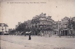 (44) SAINT NAZAIRE . Place Marceau . L'Athénée - Saint Nazaire
