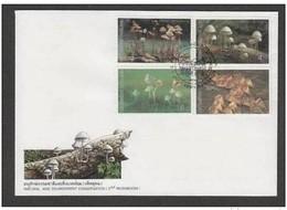 TAILANDIA  1 7 1998  FDC FUNGHI - Funghi
