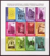 Belgique COB 2763 à 2774 - BL77 ** (MNH) - Blocks & Kleinbögen 1962-....