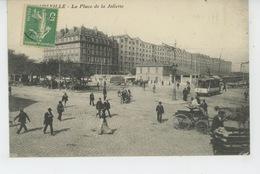 MARSEILLE - La Place De La Joliette (tramway ) - Joliette, Zone Portuaire