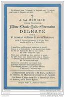 SAINT - PIERRE ..--  Aline DELHAYE . Née En 1896 , Décédée En 1899 . Fille De César Et De Dame Blanche BRICUSSE . - Libramont-Chevigny